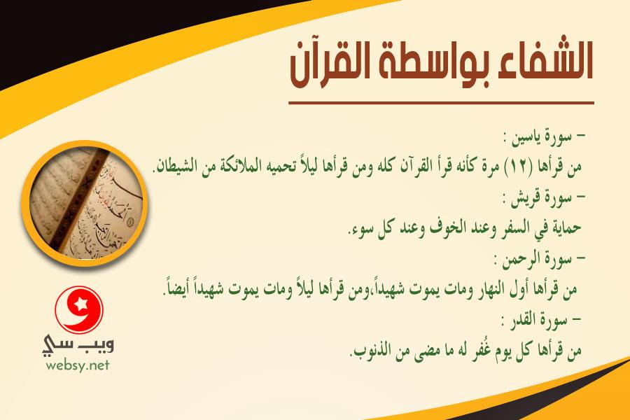 سُور القرآن الكريم وقدرتها العظيمة على الشفاء